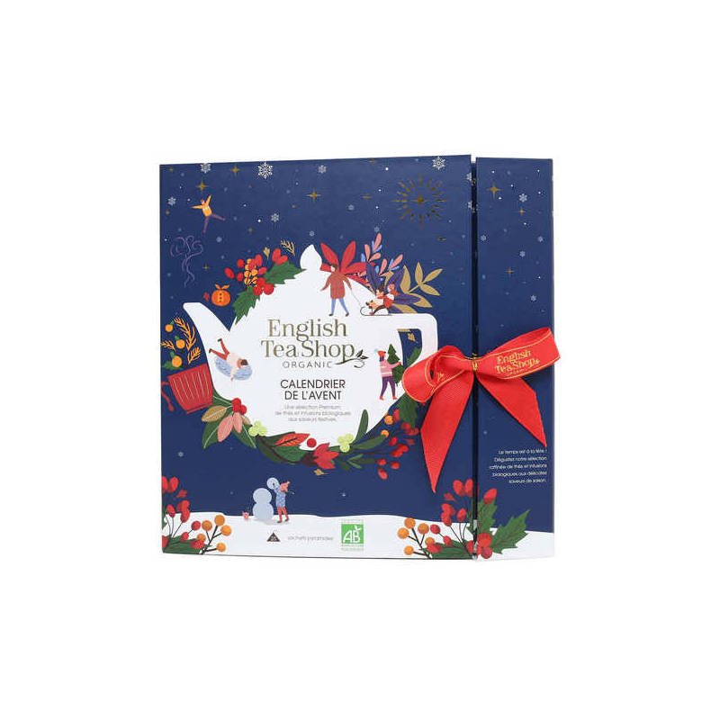 ENGLISH TEA SHOP ADVENT CALENDER BLUE BOOK