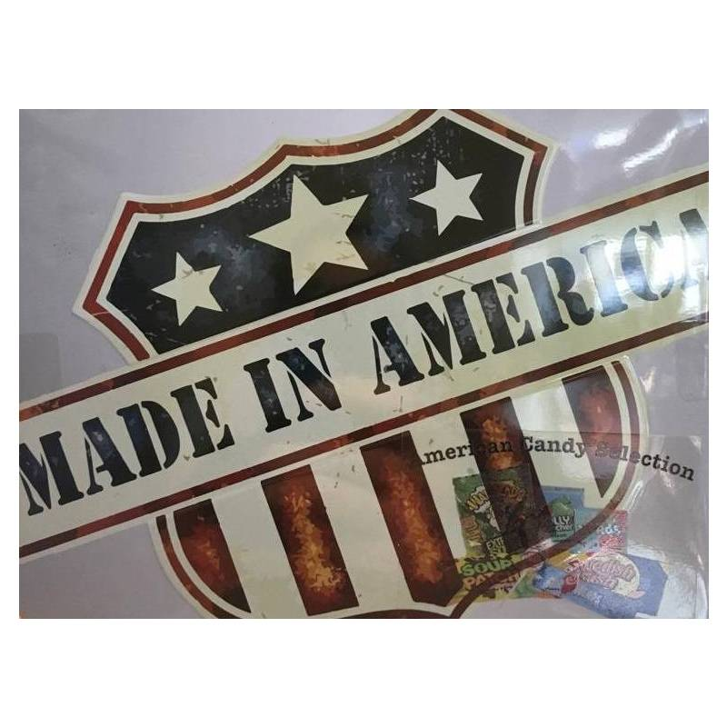 MADE IN AMERICA - AMERICAN CANDY TIN 294G best by 05/2020