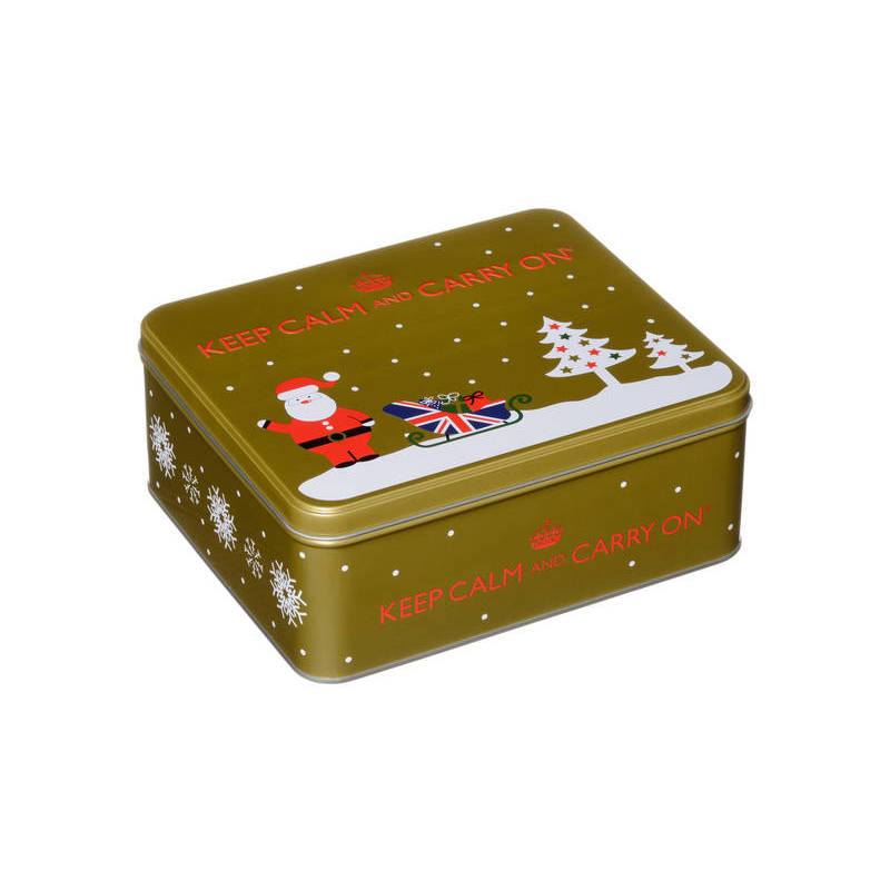 KEEP CALM AND CARRY ON (GOLD TIN) 125g