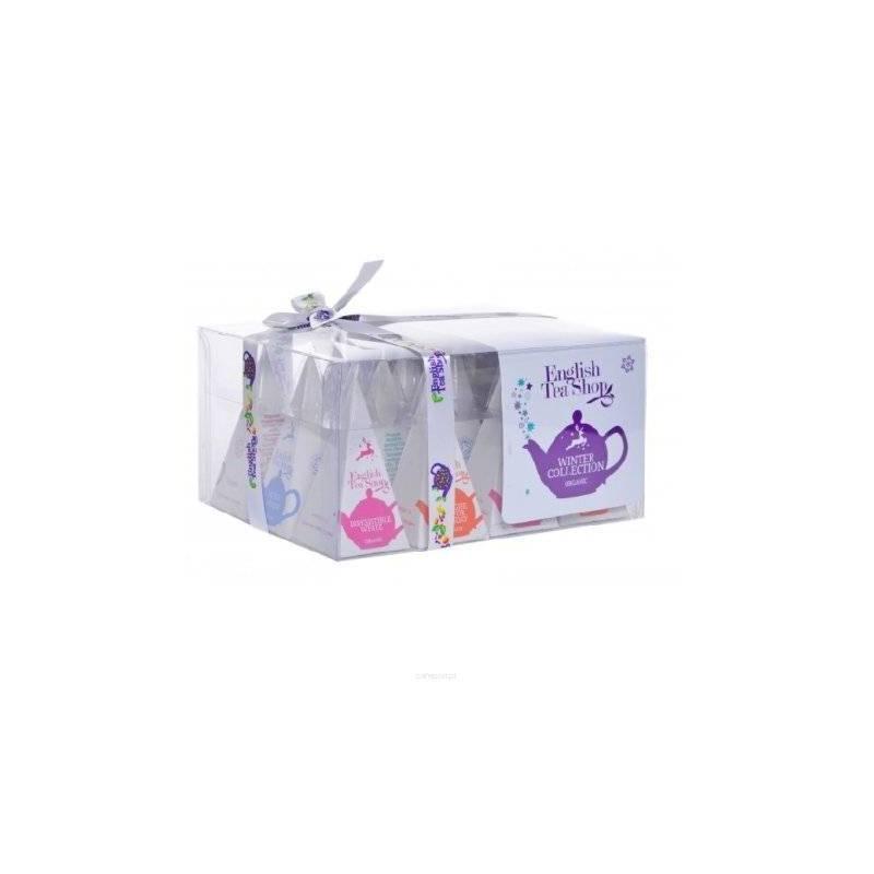 ENGLISH TEA SHOP 12 WHITE WINTER COLLECTION PRISM BAGS