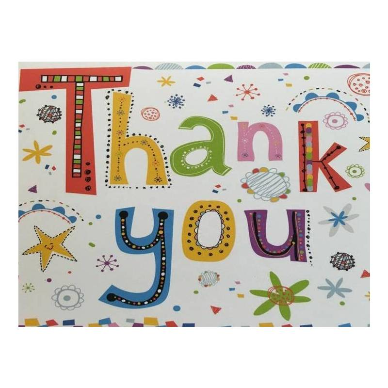 GREETING CARD - THANK YOU BLANK