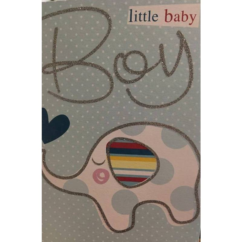 GREETING CARD - LITTLE BABY BOY