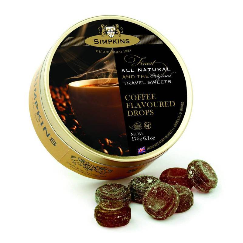 SIMPKINS COFFEE FLAVOURED DROPS 175G