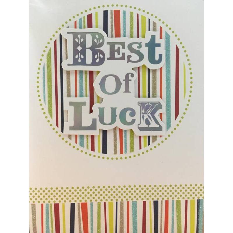 GREETING CARD - BEST OF LUCK