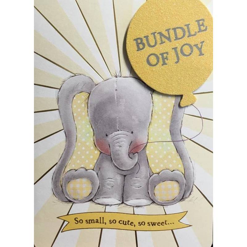 GREETING CARD - BUNDLE OF JOY