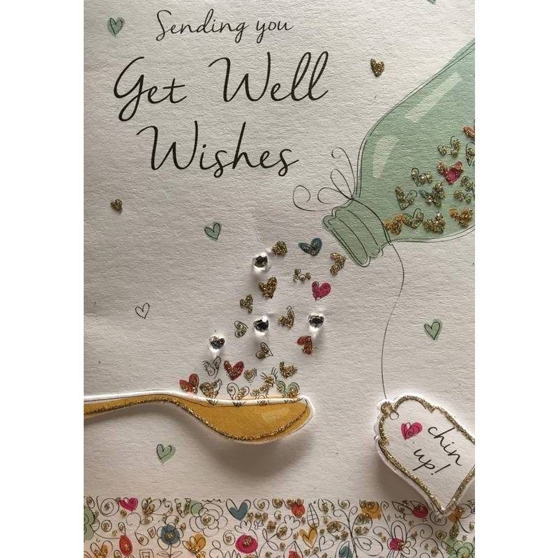 GREETING CARD - GET WELL WISHES