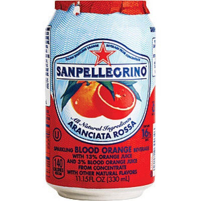 SAN PELLEGRINO BLOOD ORANGE 33CL best by 11/2020