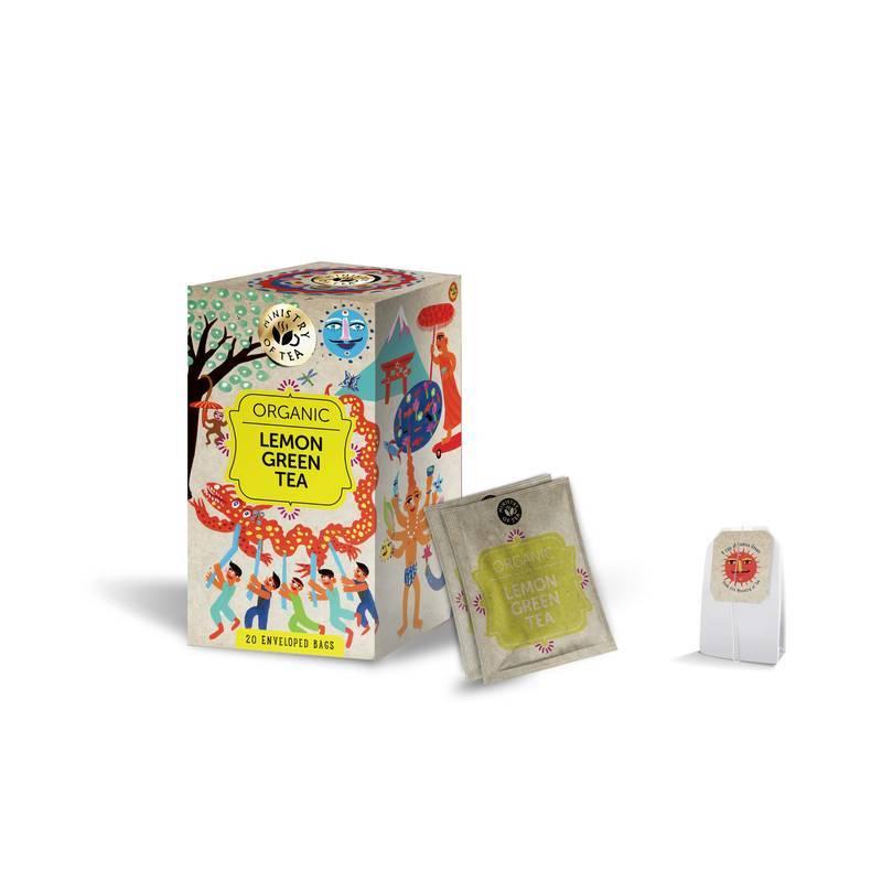 MINISTRY OF TEA LEMON GREEN TEA 20S