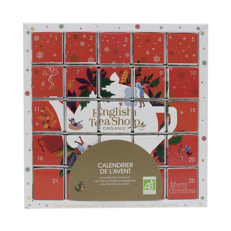 ENGLISH TEA SHOP PUZZLE ADVENT CALENDAR