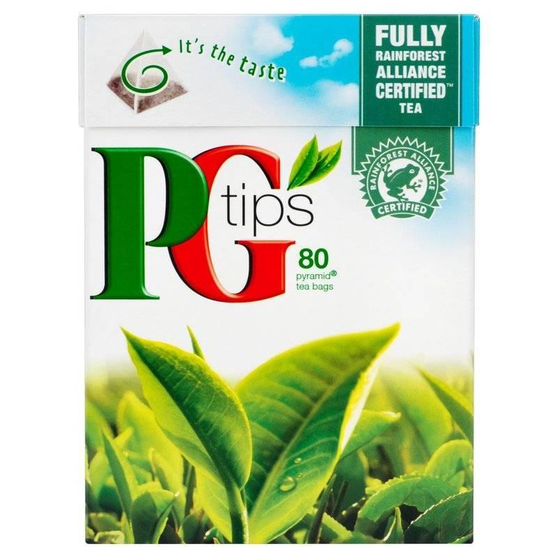 PG TIPS PYRAMID TEA BAGS 40s