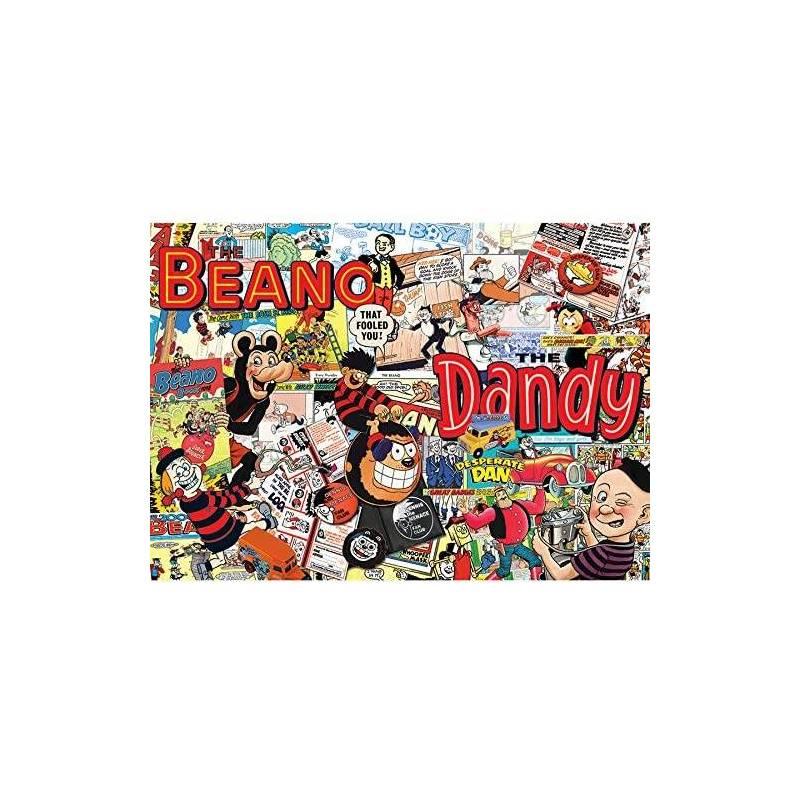 THE BEANO DANDY PUZZLE 1000PCS