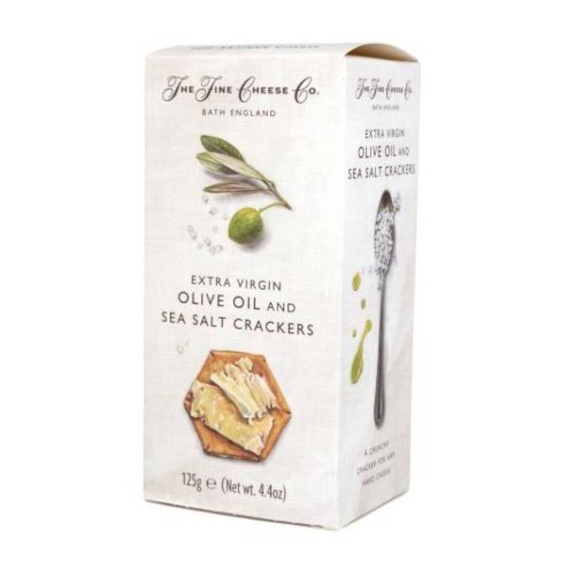 THE FINE CHEESE CO. OLIVE OIL AND SALT CRACKERS 150G
