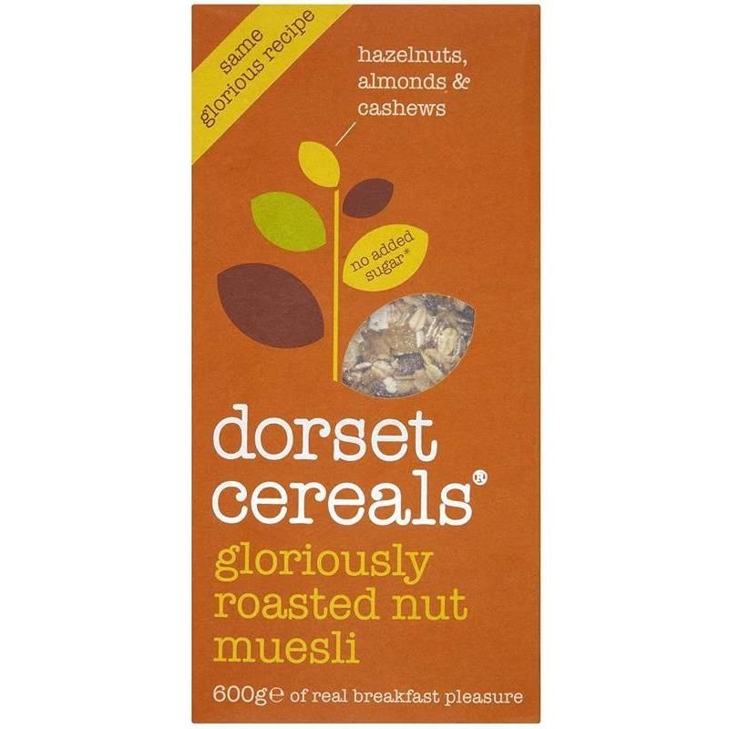 DORSET GLORIOUSLY NUTTY MUESLI 500G