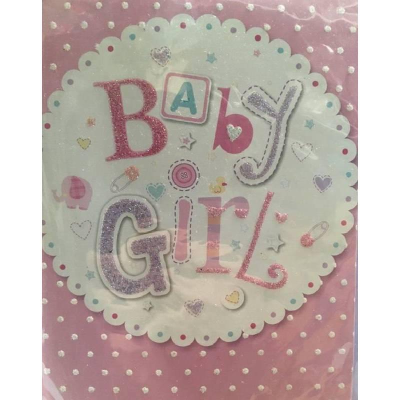 GREETING CARD - BABY GIRL