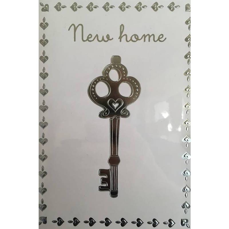 GREETING CARD - NEW HOME KEY