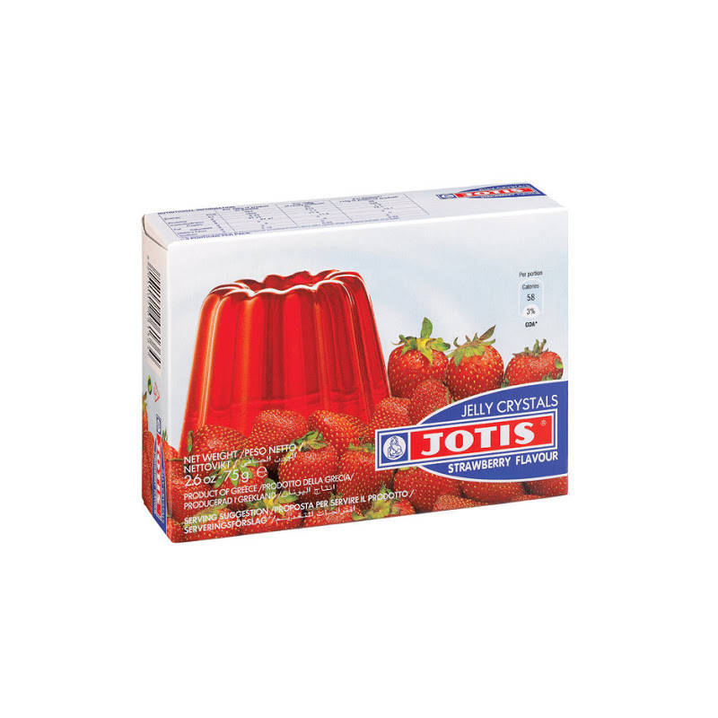 JOTIS STRAWBERRY JELLY CRYSTALS 75G