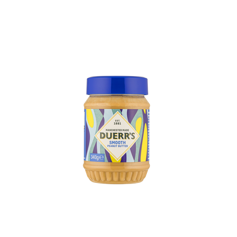 DUERR'S PEANUT BUTTER SMOOTH 340G