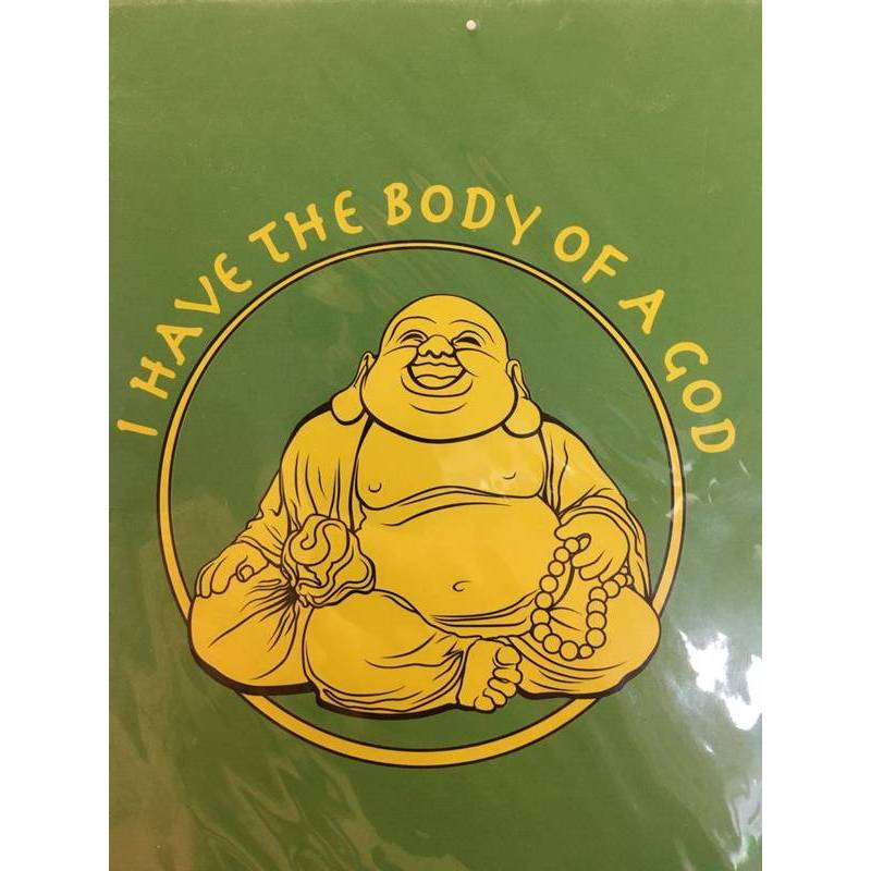 GREETING CARD - BODY OF A GOD