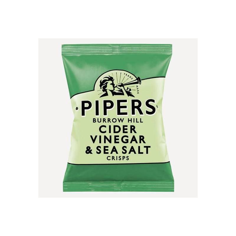 PIPERS CRISPS CIDER VINEGAR & SEA SALT 40G