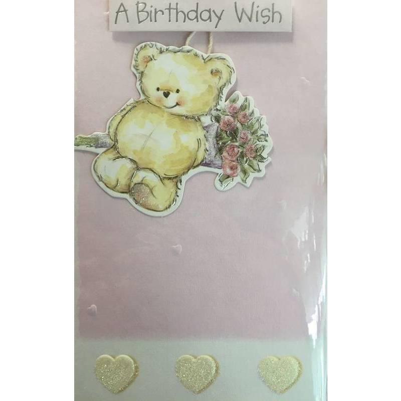 GREETING CARD - A BIRTHDAY WISH