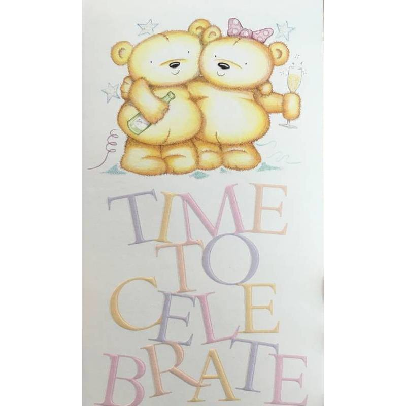 GREETING CARD - TIME TO CELEBRATE
