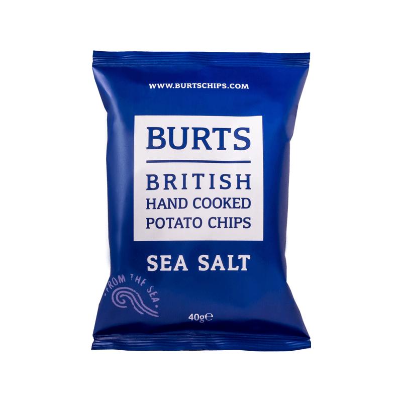 BURTS SEA SALT CHIPS 150G