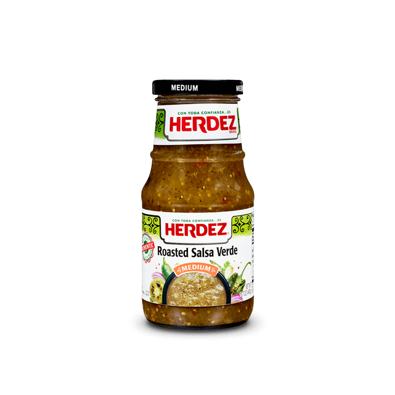 HERDEZ ROASTED GREEN SALSA 453G