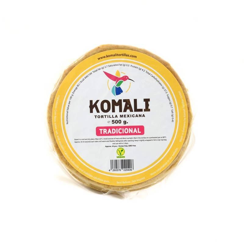 KOMALI TORTILLA 15CM 500G