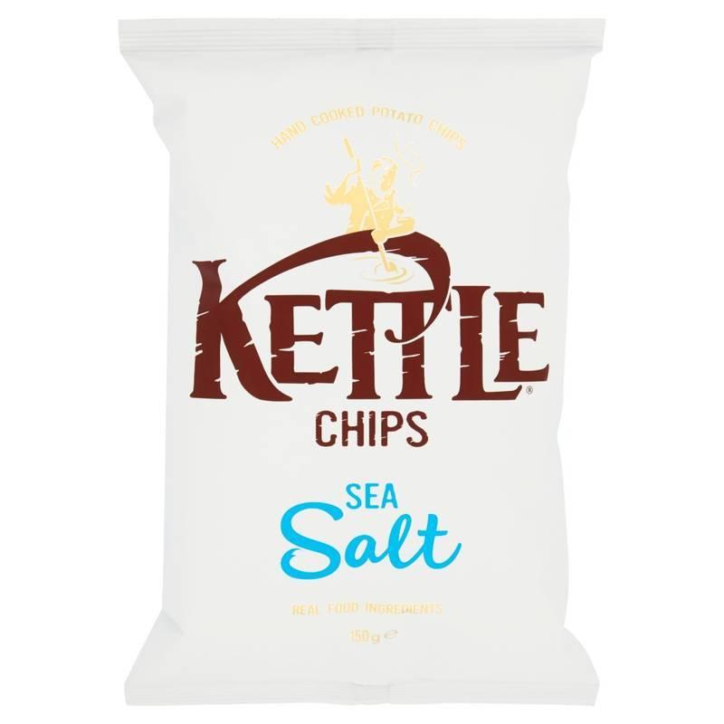 KETTLE CHIPS SEA SALT 150G