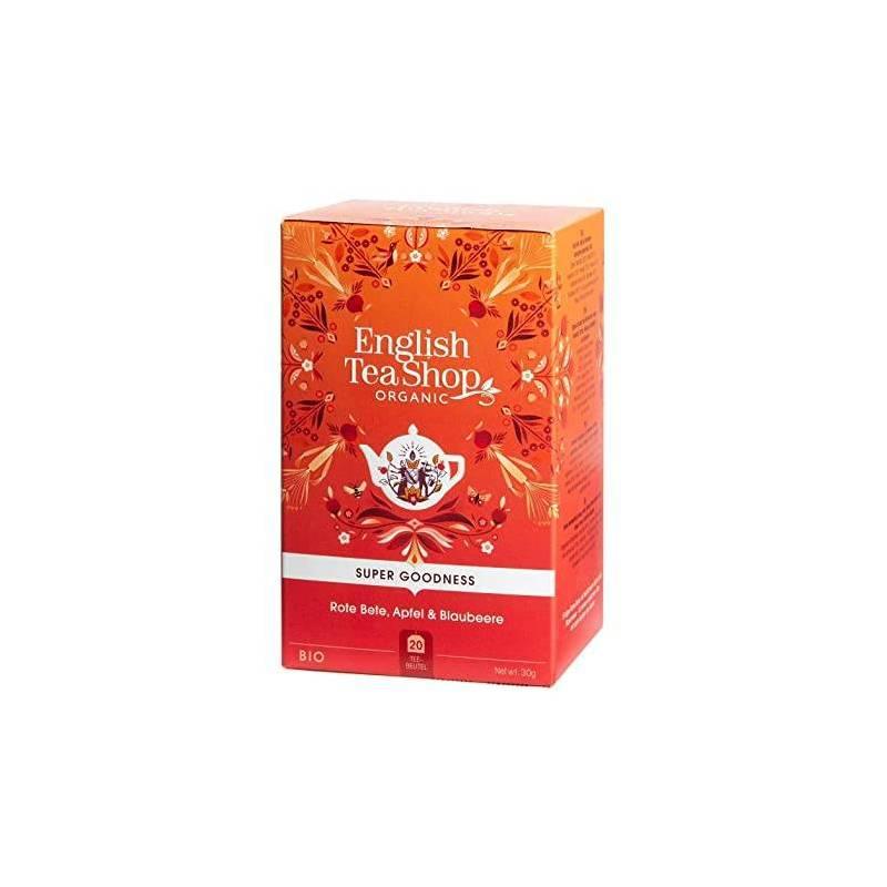 ENGLISH TEA SHOP BEETROOT, APPLE AND CINNAMON HERBAL TEA 20S