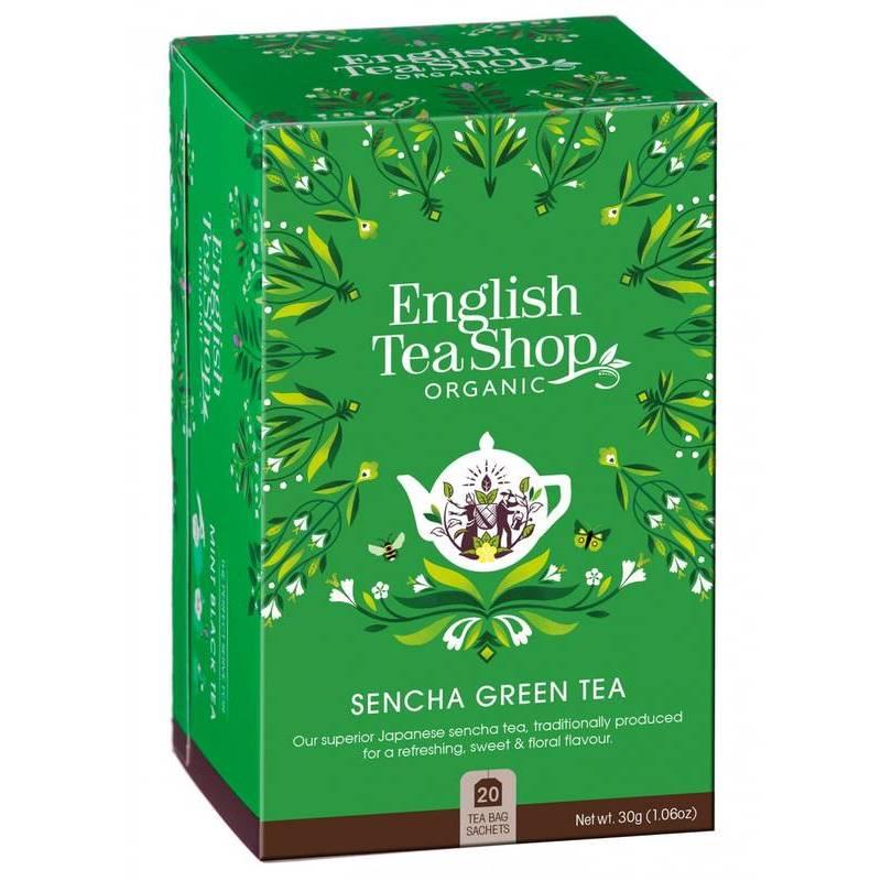 ENGLISH TEA SHOP SENCHA GREEN TEA 20S