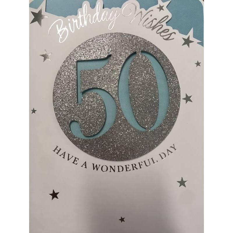 GREETING CARD - BIRTHDAY WISHES 50