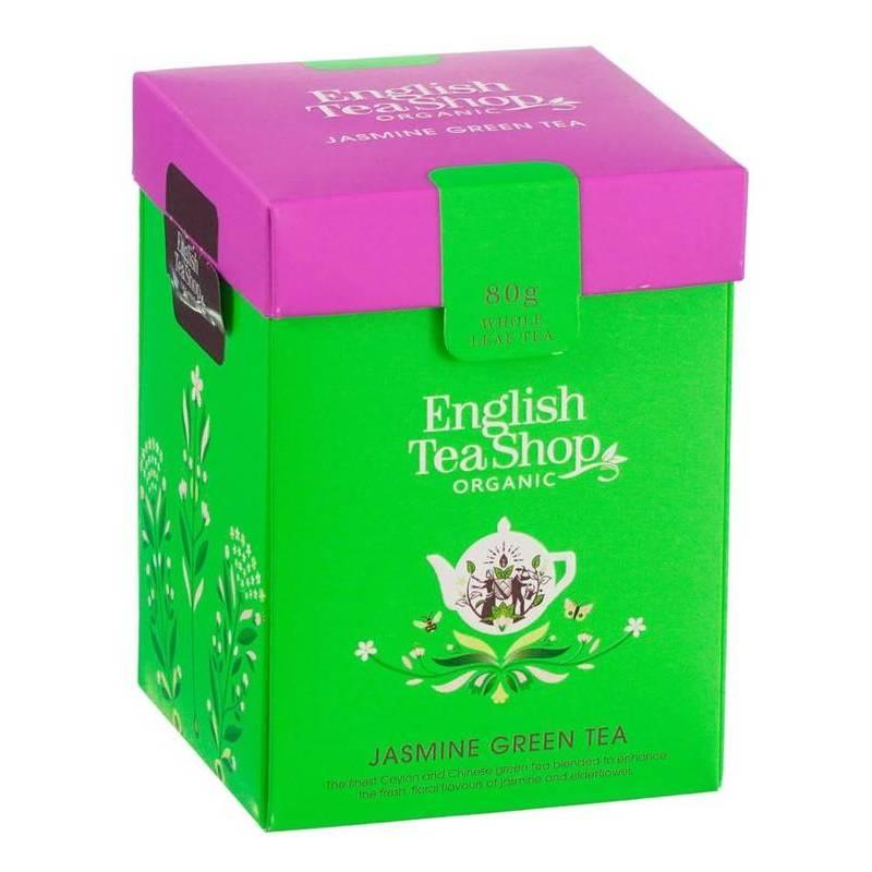 ENGLISH TEA SHOP GREEN TEA WITH JASMINE LOOSE LEAF 80G