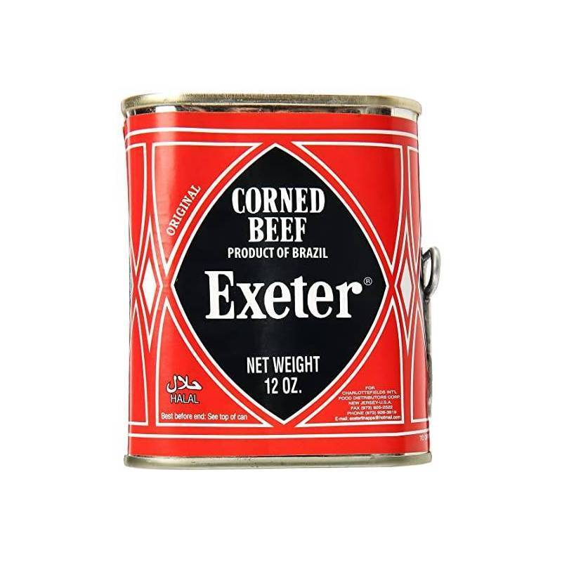 EXETER CORNED BEEF 198g