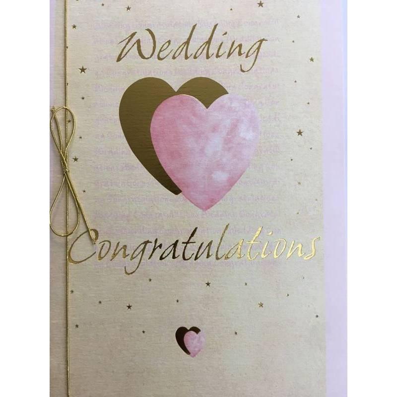 GREETING CARD - WEDDING CONGRATULATIONS