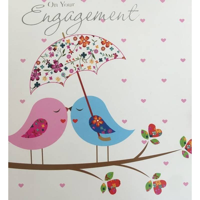 GREETING CARD - ON YOUR ENGAGEMENT