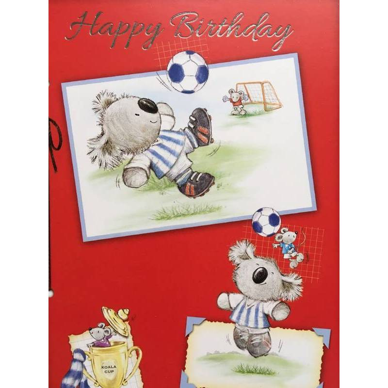 GREETING CARD - HAPPY BIRTHDAY KOALA