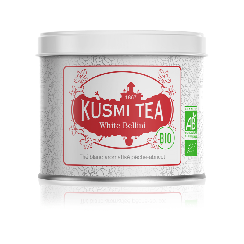 KUSMI LOOSE WHITE TEA WHITE BELLINI 100G