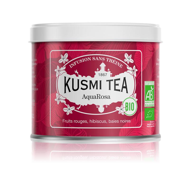 KUSMI LOOSE HERBAL TEA AQUAROSA 100G
