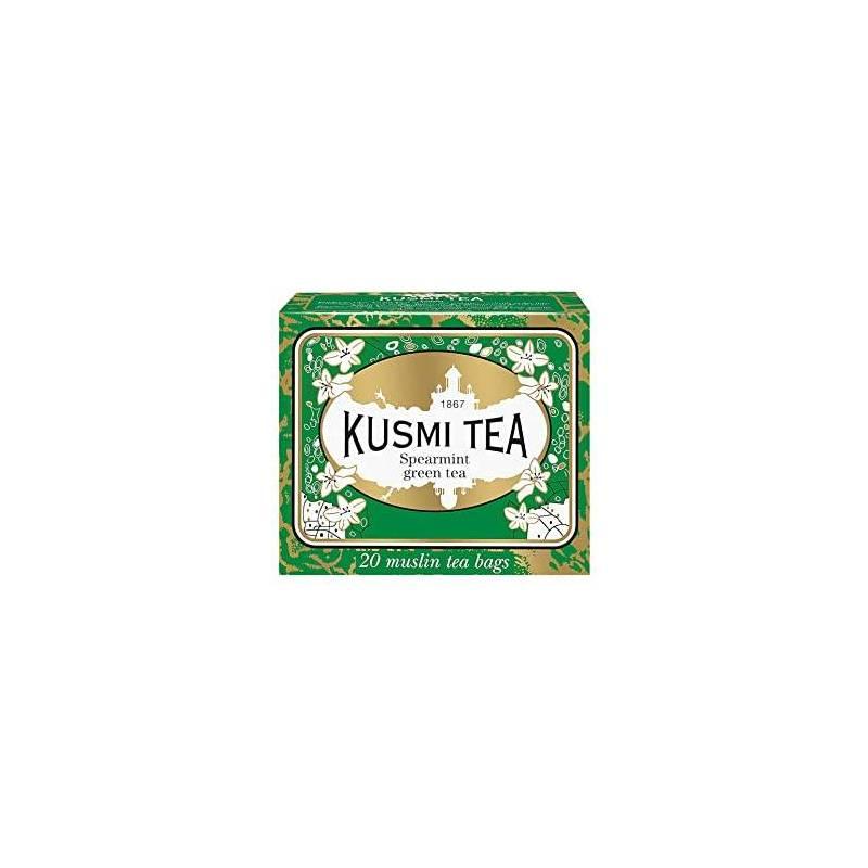 KUSMI SPEARMINT GREEN TEA 20S