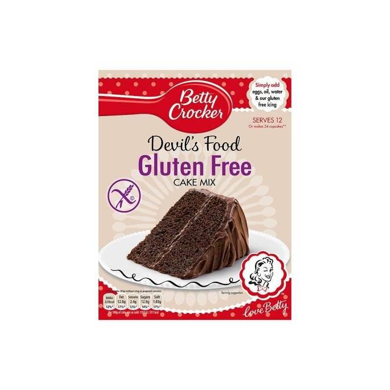 BETTY CROCKER GLUTEN FREE DEVIL'S FOOD MIX 425G