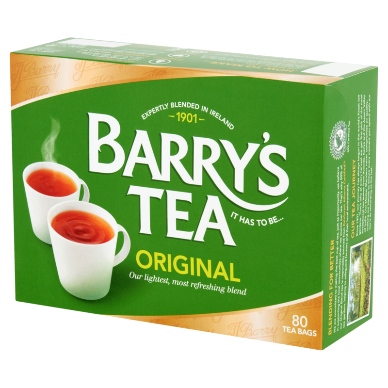 BARRY'S TEA 80S