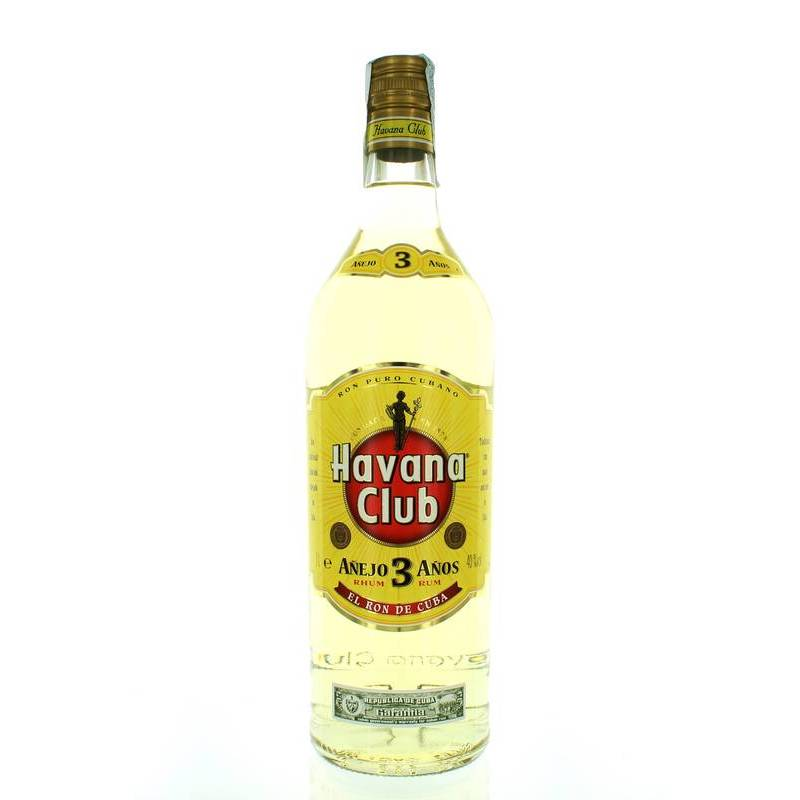 HAVANA CLUB RUM 3 ANOS 1L