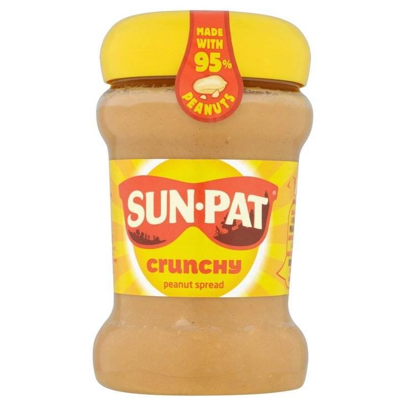 SUN-PAT® CRUNCHY PEANUT BUTTER 400G