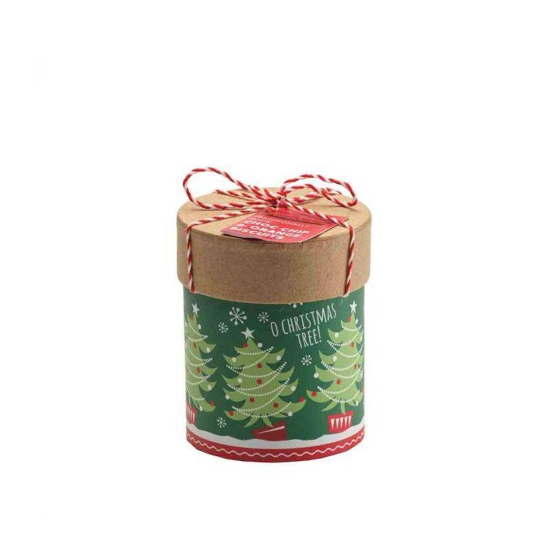 FARMHOUSE BISCUITS O CHRISTMAS TREE TUBE 125G