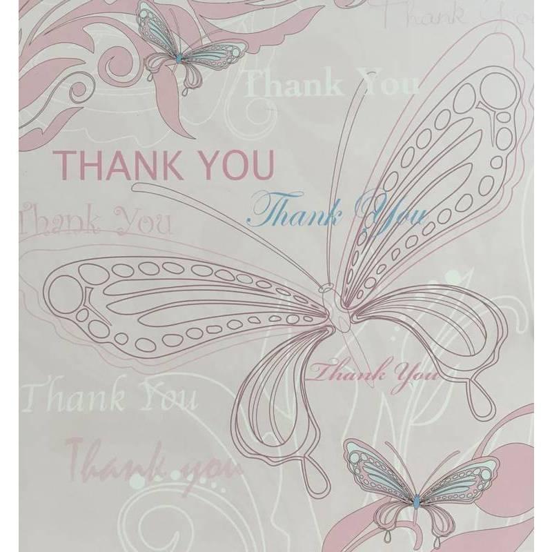 GREETING CARD - THANK YOU BUTTERFLIES