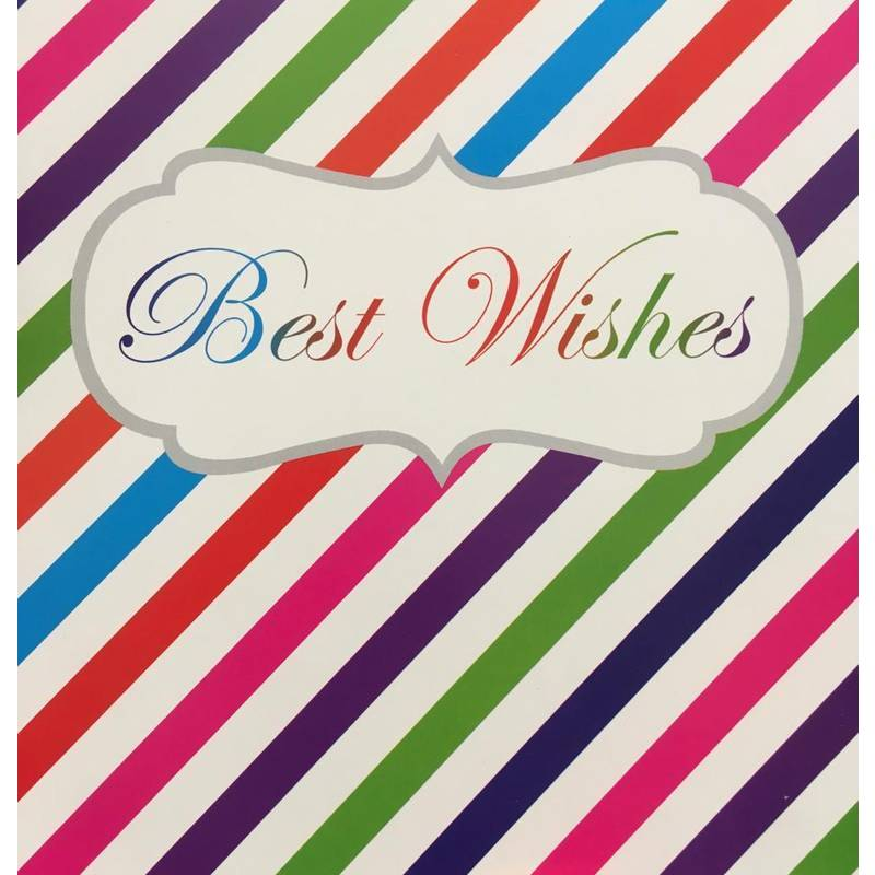 GREETING CARD - BEST WISHES