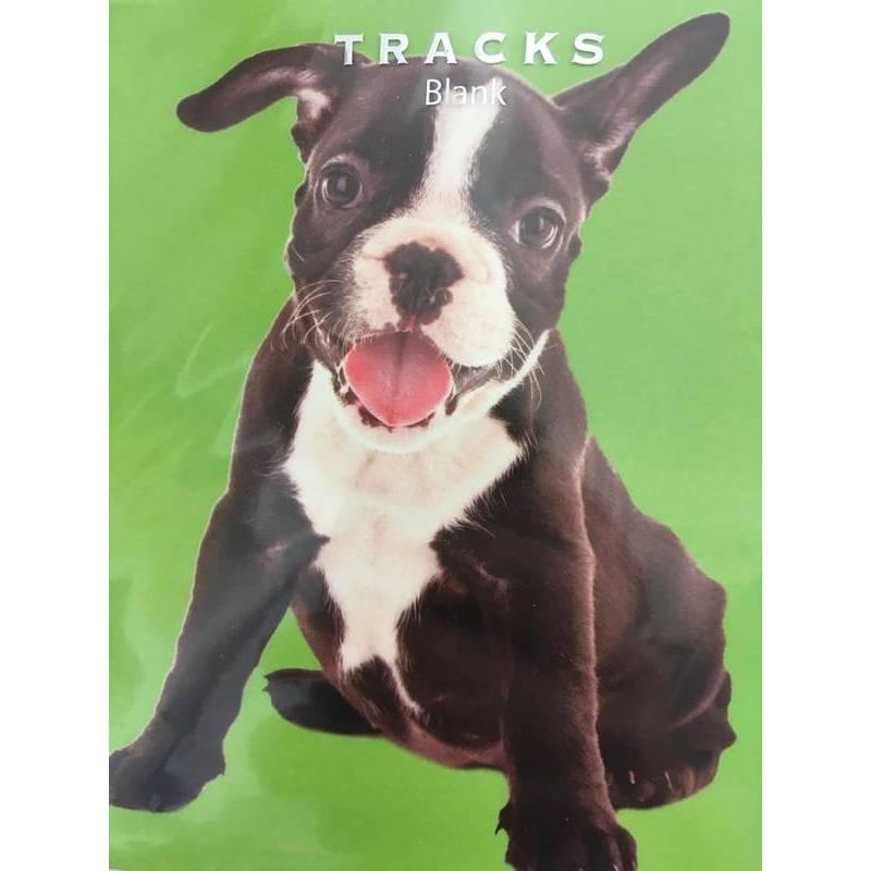 GREETING CARD - BLACK DOG