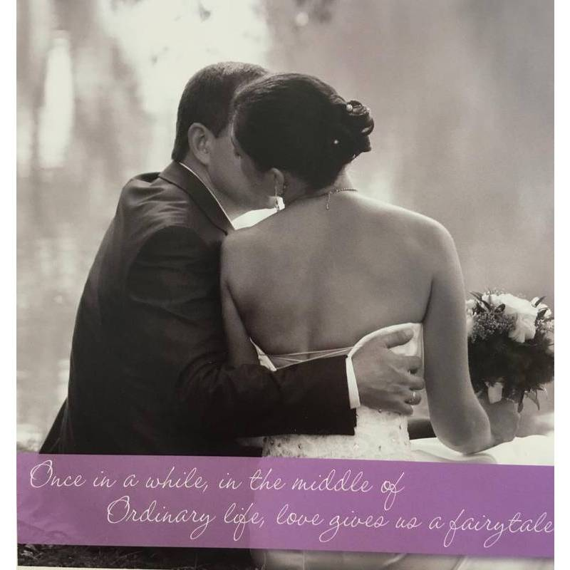 GREETING CARD - WEDDING ONCE IN A WHILE