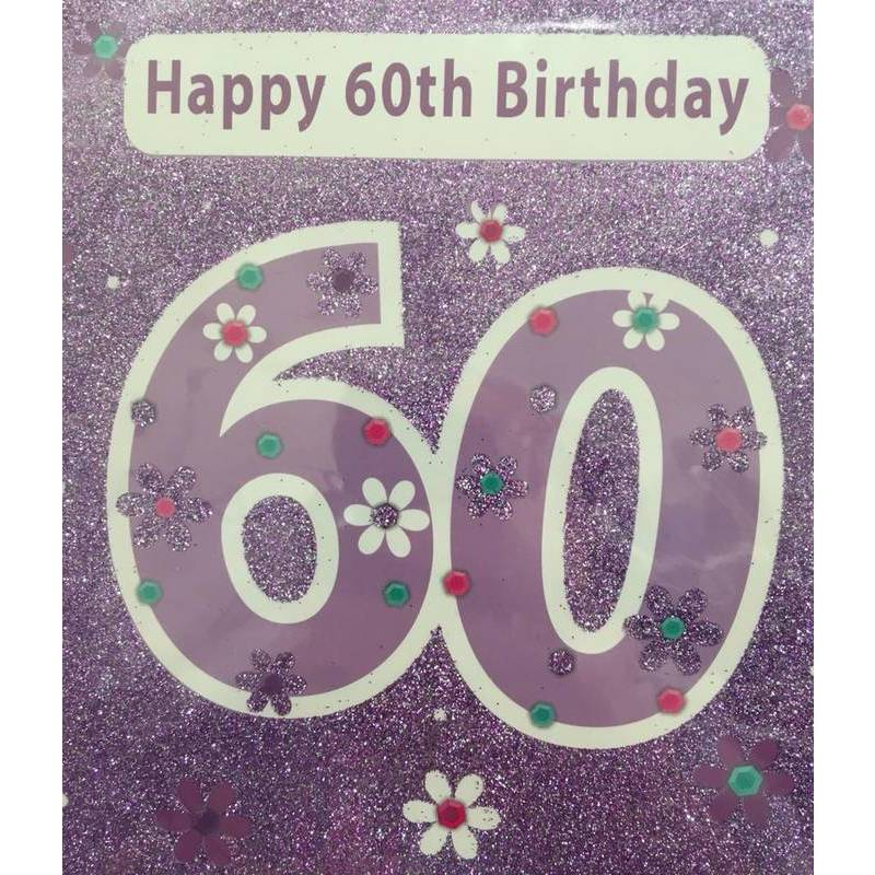 GREETING CARD - HAPPY BIRTHDAY 60
